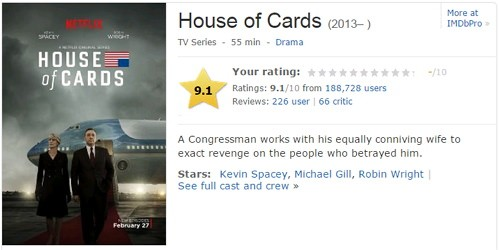 紙牌屋 HOUSE OF CARDS 第三季