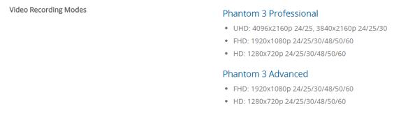 dji_phantom_3 規格