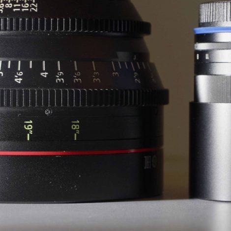 蔡司定焦 vs 電影鏡CN-E,6倍價差的距離