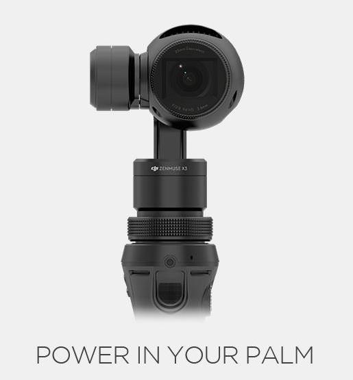 Osmo Handheld 4K Camera / Osmo手持三軸穩定器