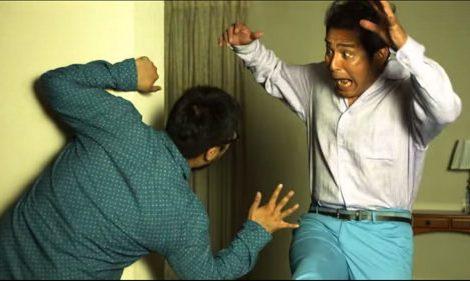 日本創意+搞笑廣告-腹部訓練機