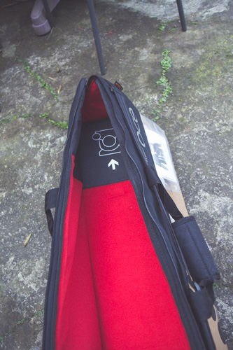 附贈的袋子具有提示功能