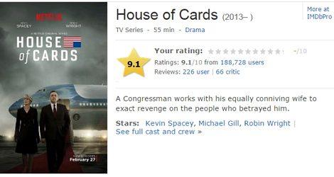 紙牌屋 HOUSE OF CARDS 第三季