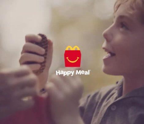 麥當勞紙袋餐盒,可以收納童年多少的夢想?