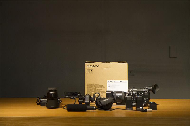 Sony Fs5 新機入袋 /開箱