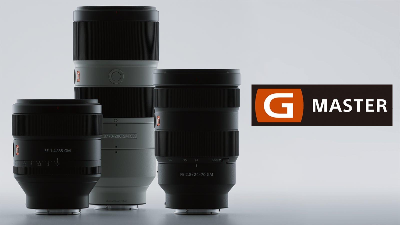 SONY 新推出G Master系列鏡頭
