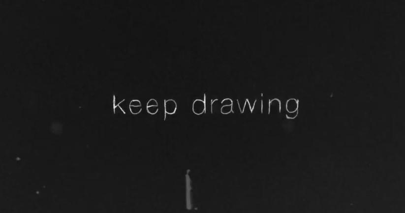 動畫短片分享-keep drawing