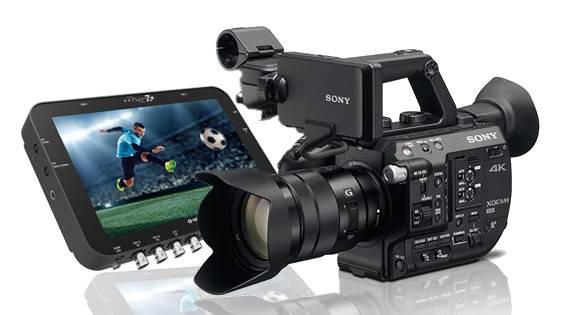 NAB2016: Sony FS5 & FS7 韌體更新2.0