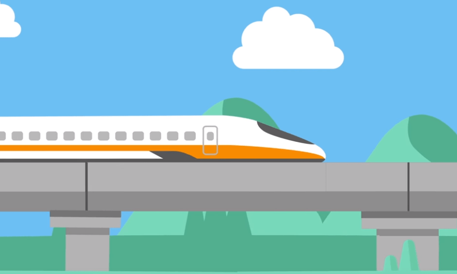 台灣高鐵 – 動畫製作
