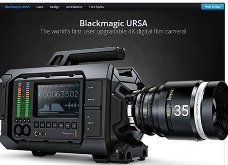 Blackmgaic Design 2014 新攝影機