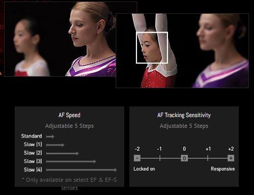 新增自動對焦,並可以設定速度與對焦間隔