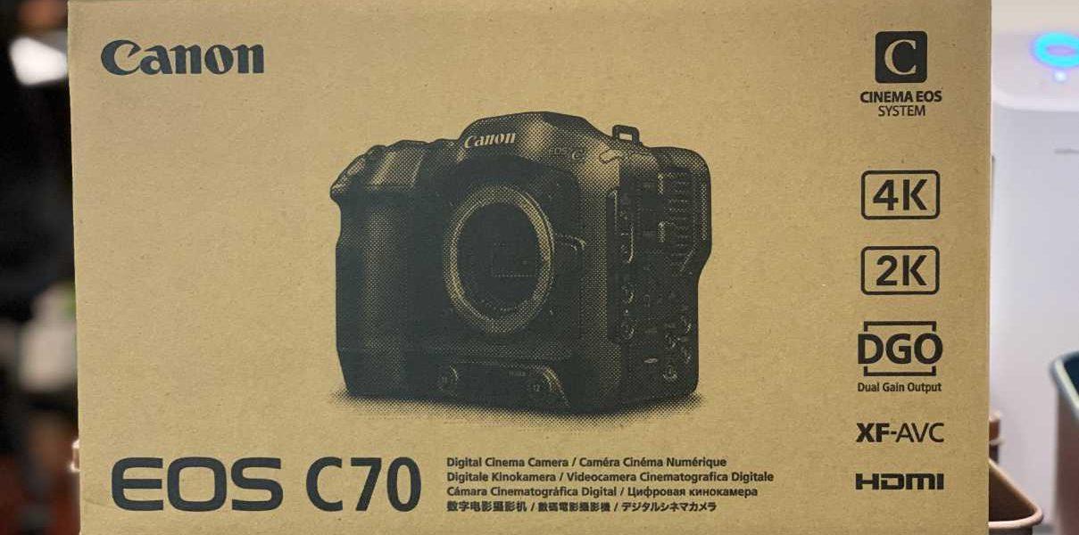 Canon C70 開箱