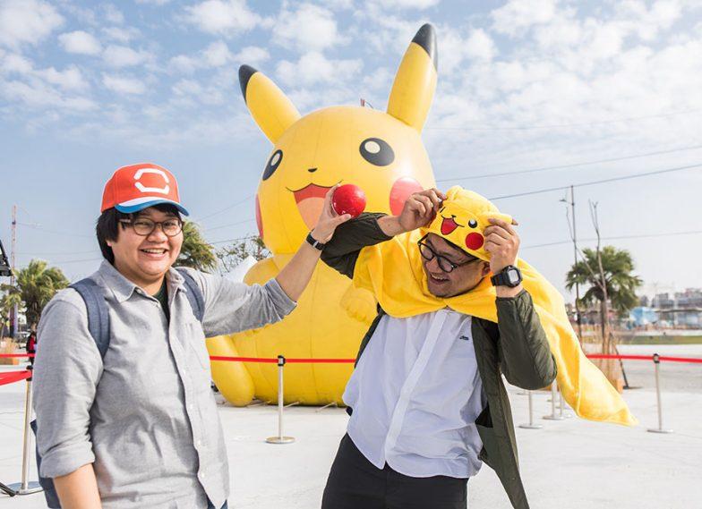 Pokemon go 嘉義燈會活動