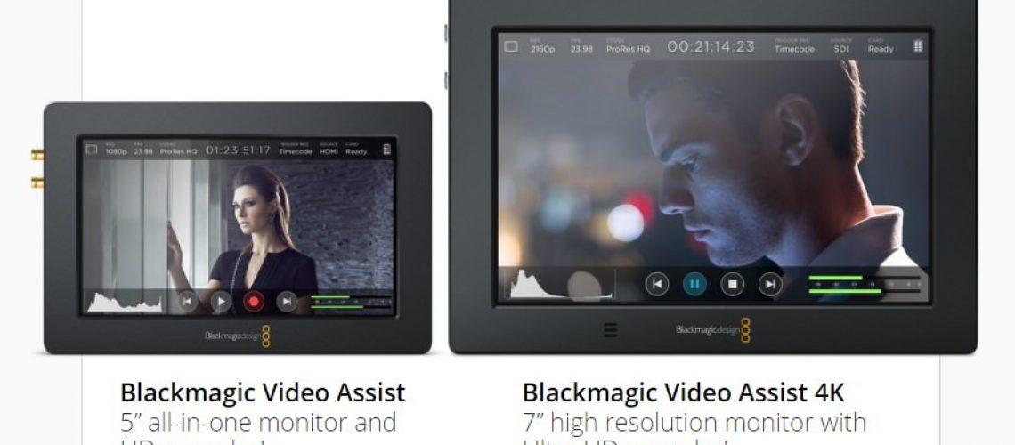 Blackmagic Video Assist4K