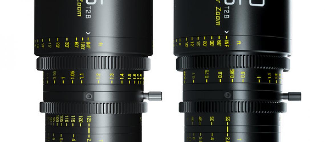 DZOFilm Pictor 20-55mm & 50-125mm T2.8 Cine Zooms