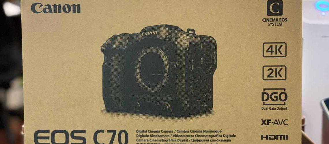 專業級數位攝影機- EOS C70
